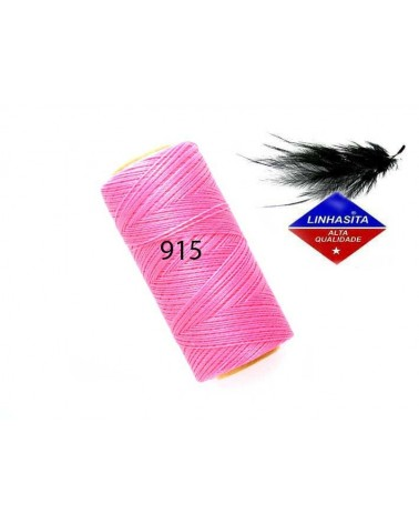 Fil ciré 0.5MM Linhasita Pink (915) X 5M