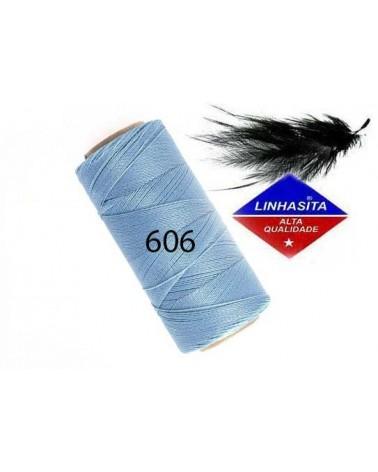 Fil ciré 0.5MM Light Blue (606) x 5M