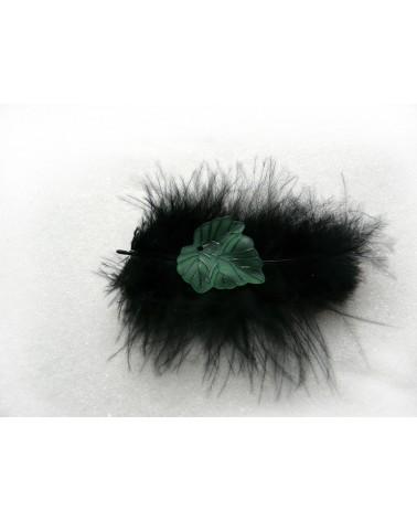 feuille-acrylique vert givre-22mm X1