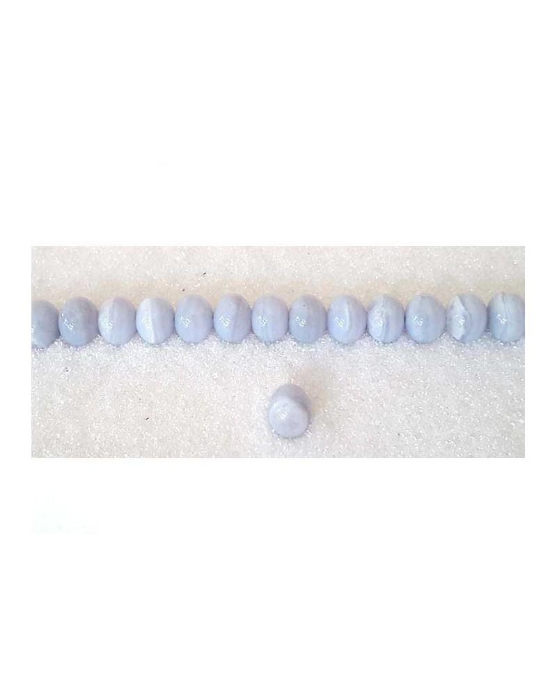 Agate dentelle 6mm ciel X 15
