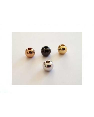 Boule 4mm platine X 10