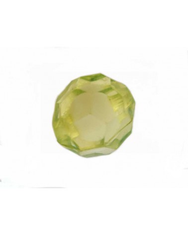 Boule facettée 20mm Acrylique Vert X1