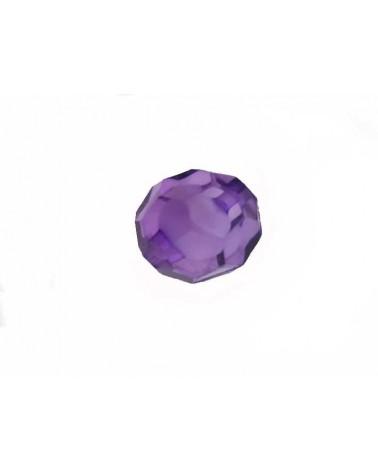 Boule facettée 20mm Acrylique violet X1