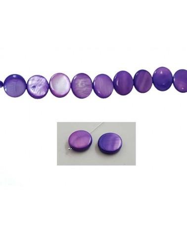Palet Nacre 12mm Violet X5