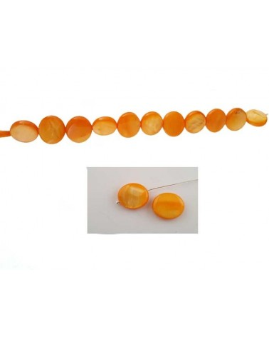 Palet Nacre 12mm Orange X5