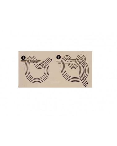 réaliser un noeud solide fil élastique