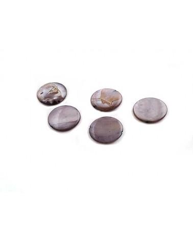 Palet Nacre 15mm gris