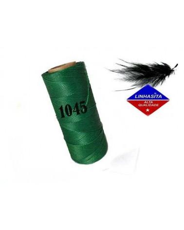 Fil ciré 0.5MM Linhasita Green (1045) X 5M