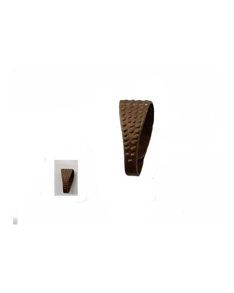 Bélière 8mm laiton bronze X1