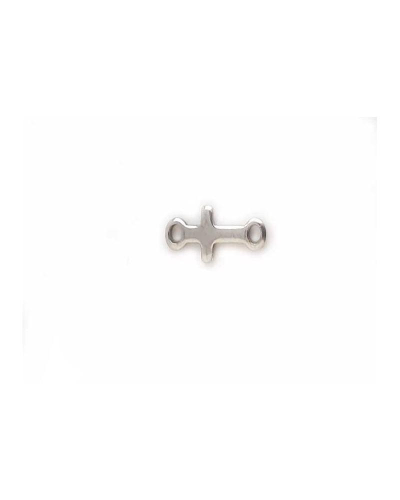 Intercalaire connecteur Croix 18x7mm inox X1