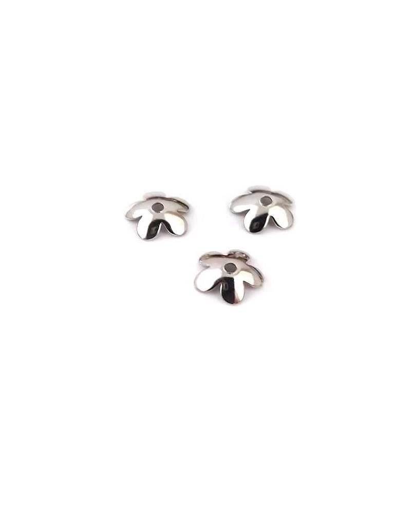 Coupelles 6mm acier inox X 10