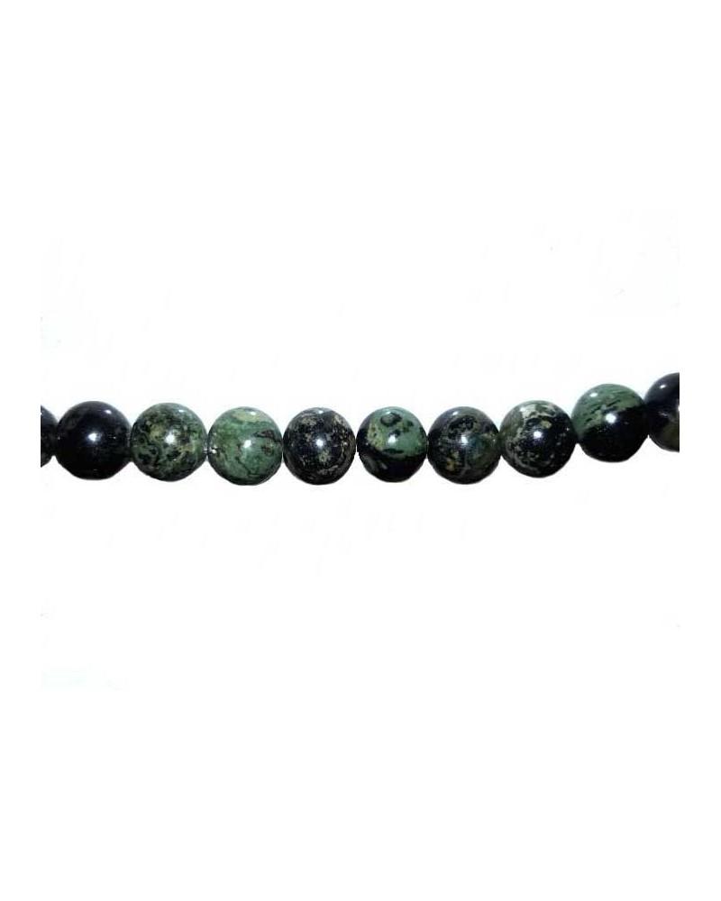 Jaspe Kambala 6mm vert X15