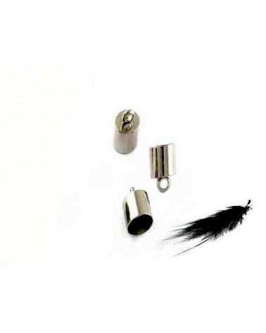 Embout 9x3.5mm Platine pour cordon 3mm X 10