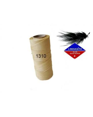 Fil ciré 1MM Linhasita Cream (1310) X 5M