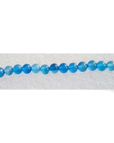 Agate 6mm bleu X15