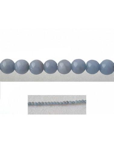 Angélite 4mm Bleu X 20