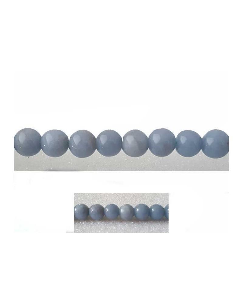 Angélite 6mm Bleu X 15