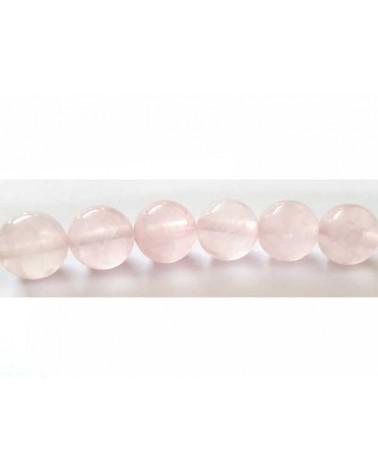 Quartz rose clair 10mm X 5