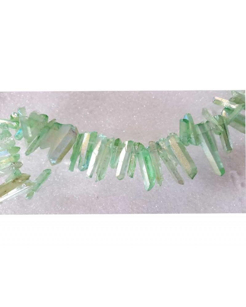 Pointe cristal 18-30mm vert X 3
