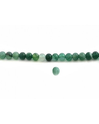 Agate lace 6mm Vert X15