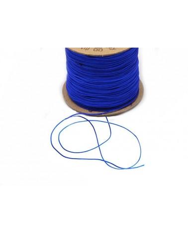 Fil nylon tressé 0,8mm Bleu outremer x 3 Mètres