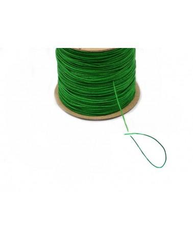 Fil nylon tressé 0,8mm Vert prairie X 3 Mètres