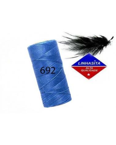 Fil ciré 1MM Linhasita Blue (692) x 5M