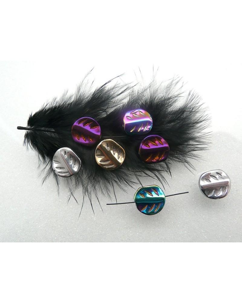 Feuille-verre-couleurs-mixées-13x12x4mm-x15