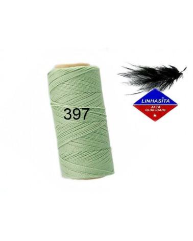 Fil ciré 1MM Linhasita lichen (397) X 5M