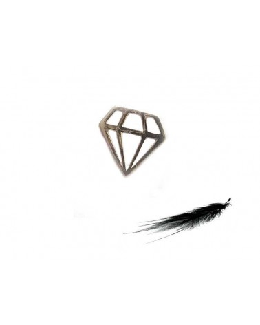 Intercalaire diamant 11x10mm A925
