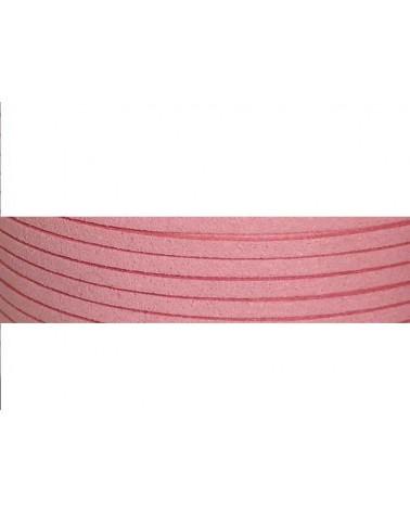 Lacet suédine 3x1,4mm Rose X1M