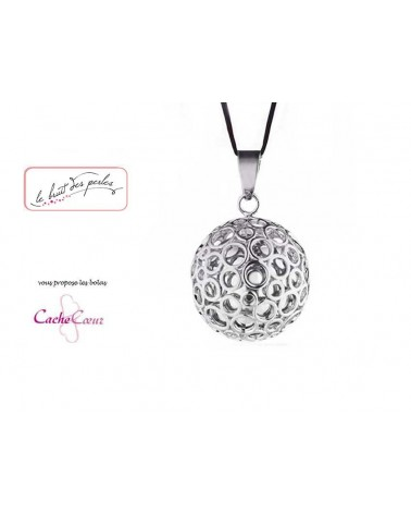 Bola de grossesse 20mm PERSEE Cache-Coeur Bulle Argent