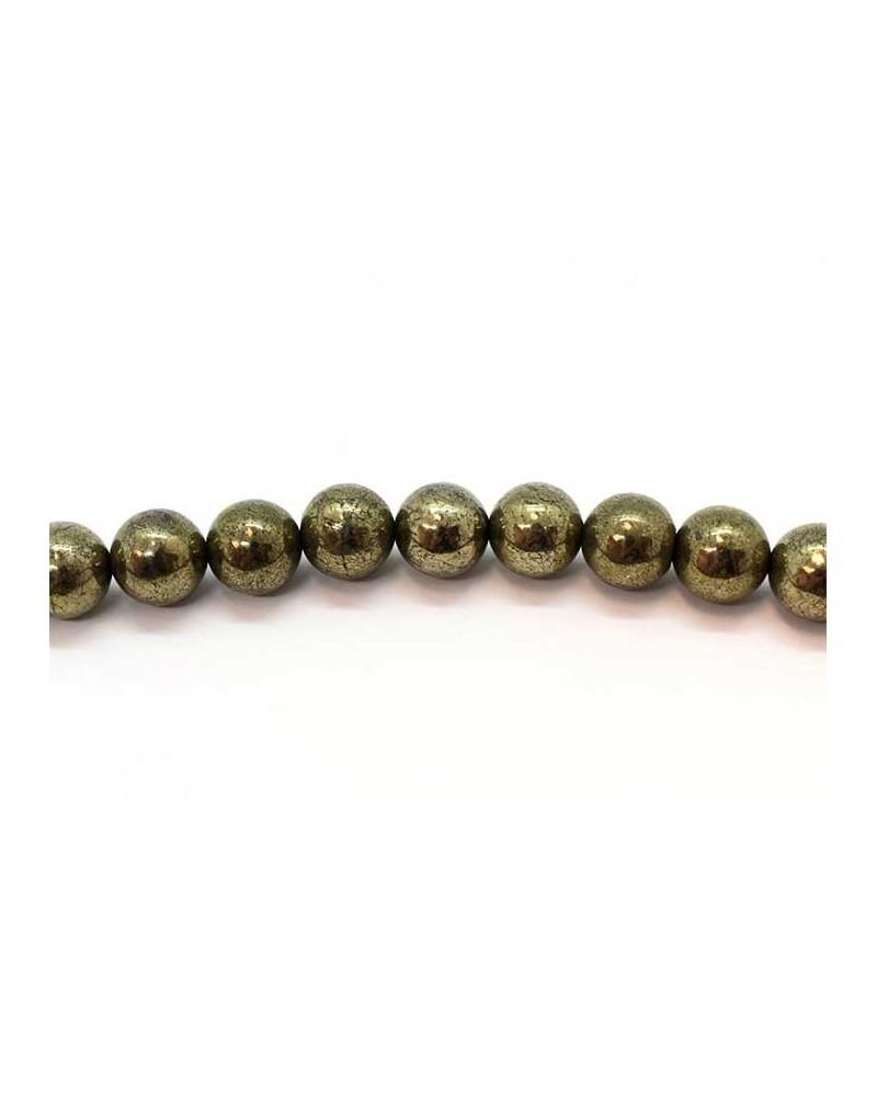 Boule pyrite 6mm x15