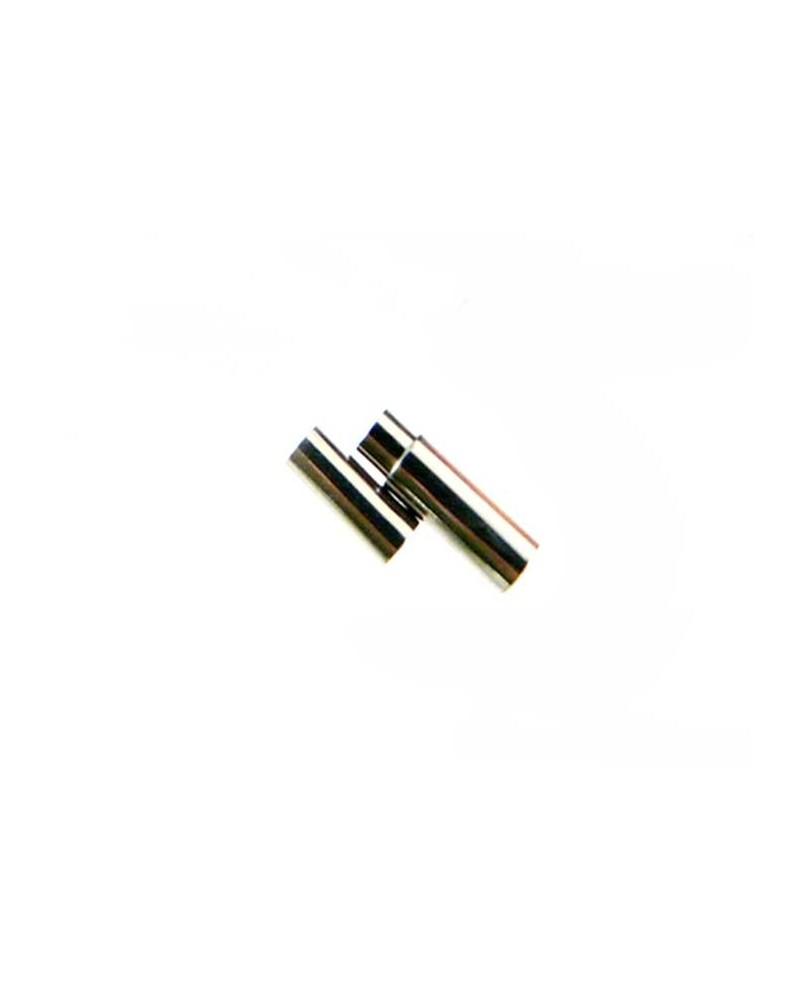 Fermoir Magnétique en  Acier inoxydable pour cordon 3mm x1