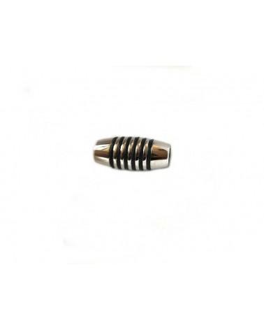 Fermoir aimanté en acier inoxydable pour cordon 4mm X 1