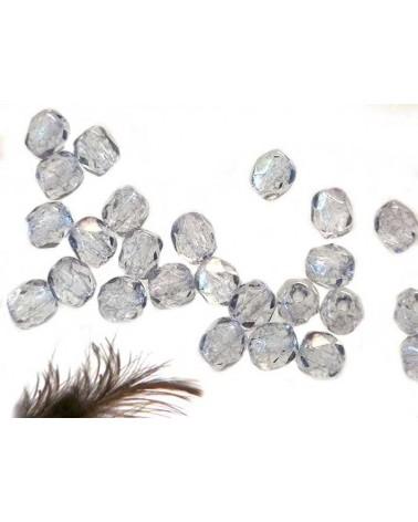 Facettes 4mm Crystal Tarakota Blue x 50