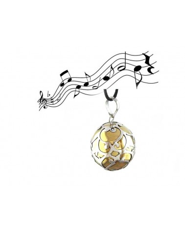 Petit bola perle d'elfe CYMBAE en argent 925