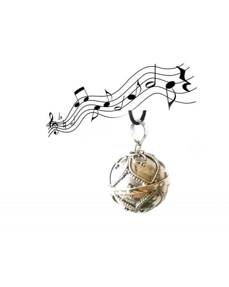 Petit bola perle d'elfe TSIH en Argent 925