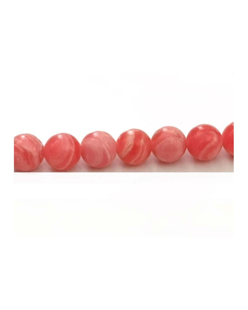 Rhodochrosite  6mm imitation X15