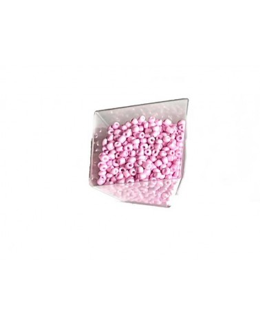 Rocaille 4mm Baby rose x15gr