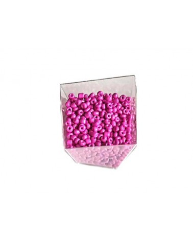 Rocaille 4mm Rose Indien x15gr