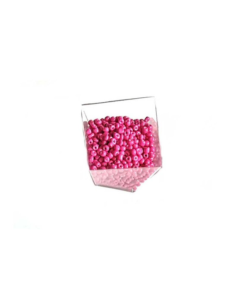 Rocaille 4mm Pink x15gr