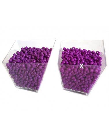 Rocaille 4mm Lilas x15gr