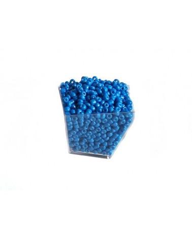 Rocaille 4mm Bleu x15gr