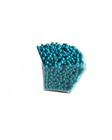 Rocaille 4mm Turquoise x15gr