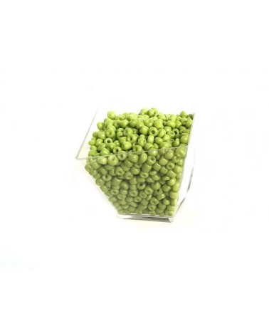 Rocaille 4mm Lime Green x15gr