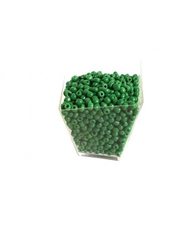 Rocaille 4mm Green x15gr