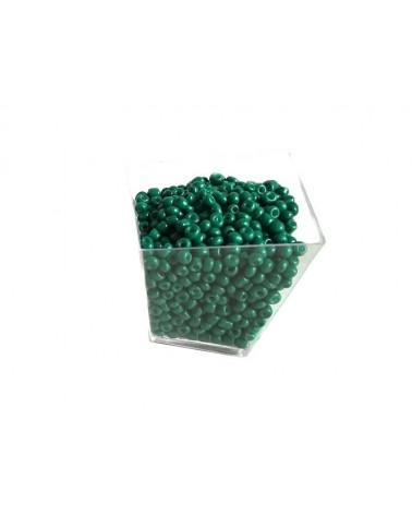 Rocaille 4mm vert épicéa x15gr