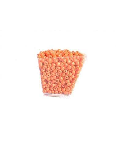 Rocaille 4mm Orange x15gr