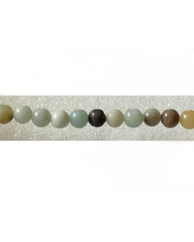Amazonite 6mm naturelle x 15